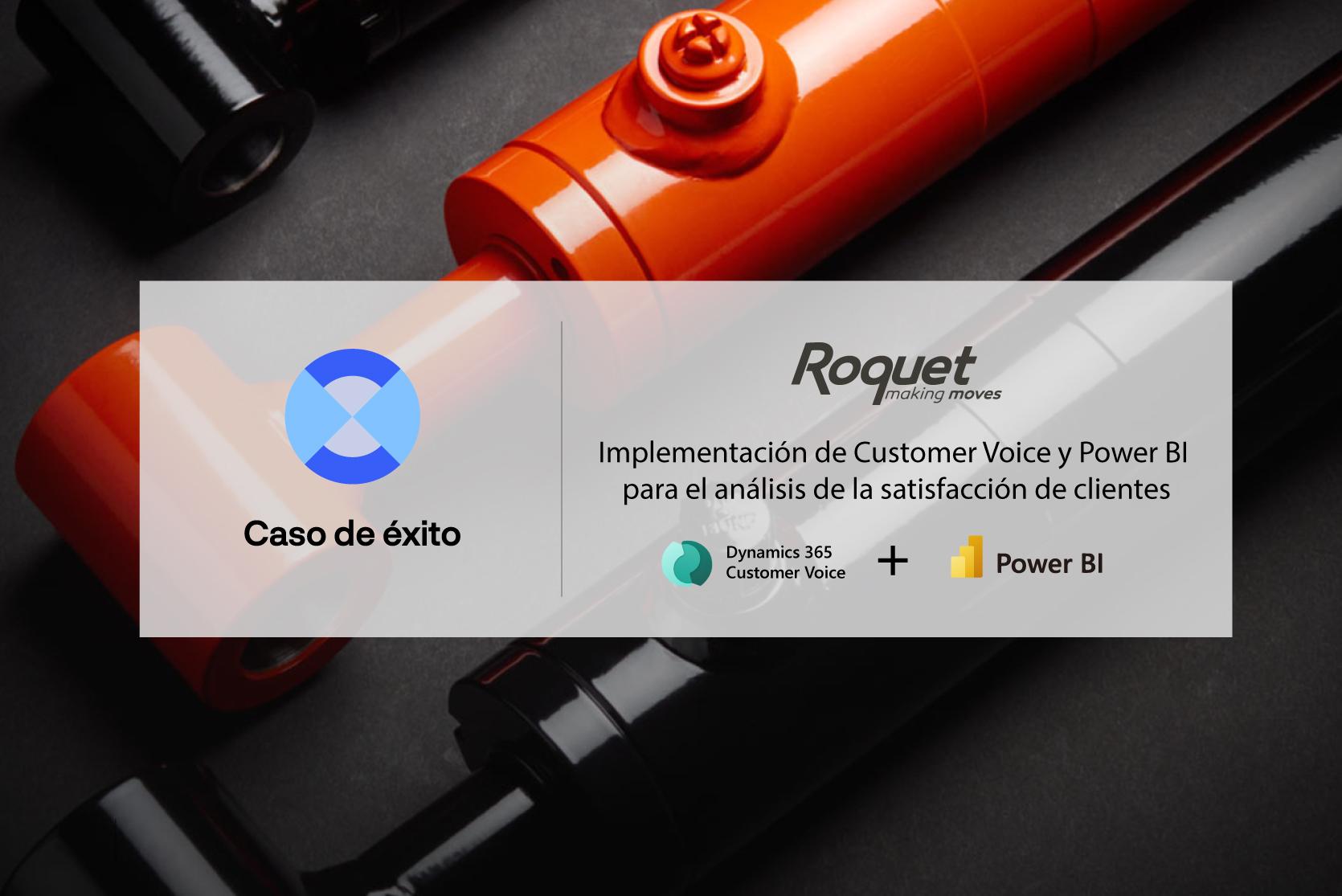 Caso de éxito de Rocket Hydraulics en la integración de Customer Voice y Power BI