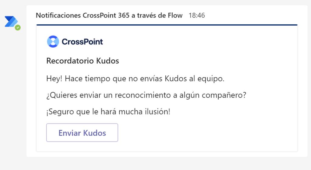Flow Kudos reconocimiento